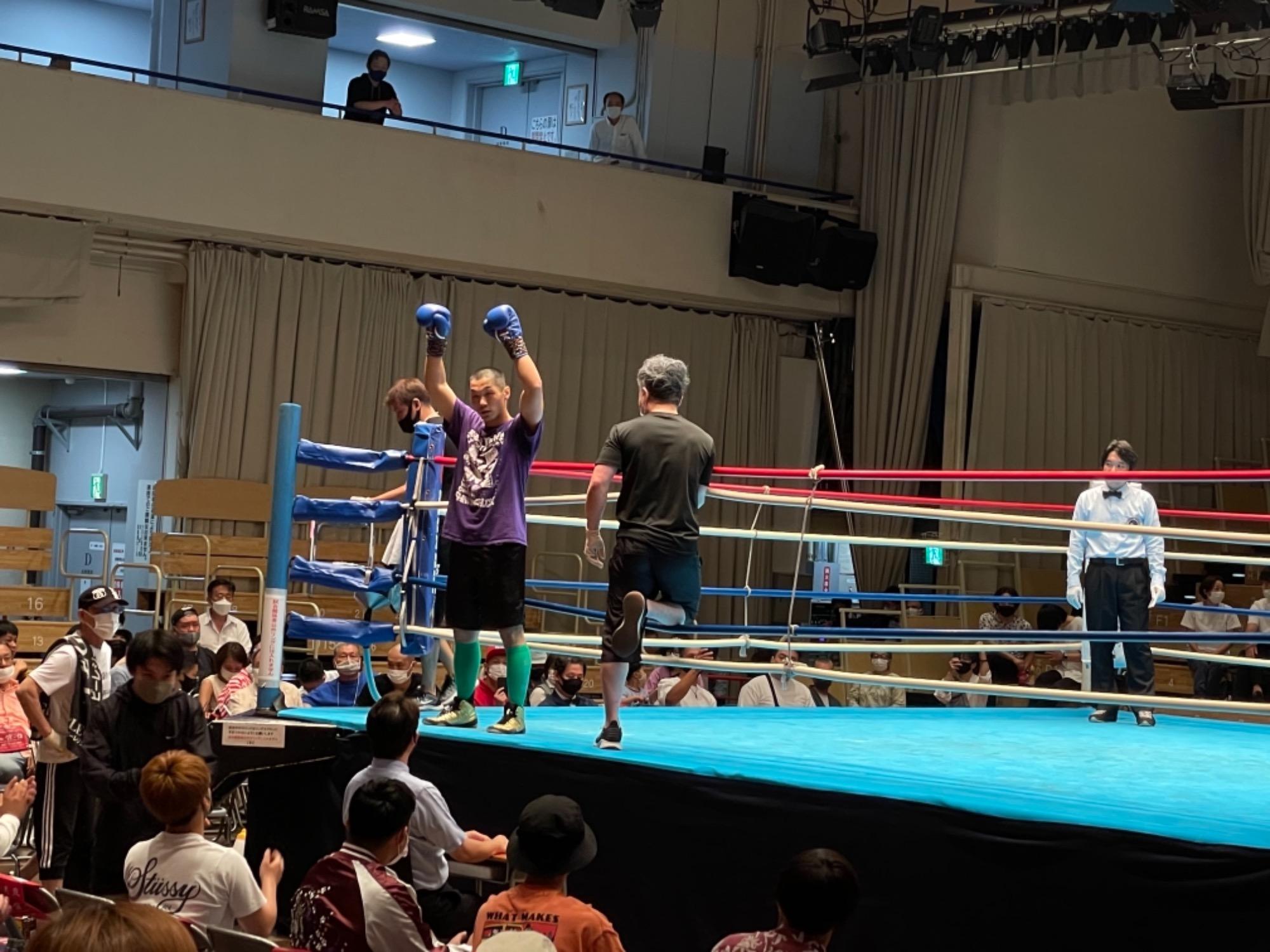 スタッフYUYAのボクシング観戦記3R 画像1 rsc products公式ウェブサイト