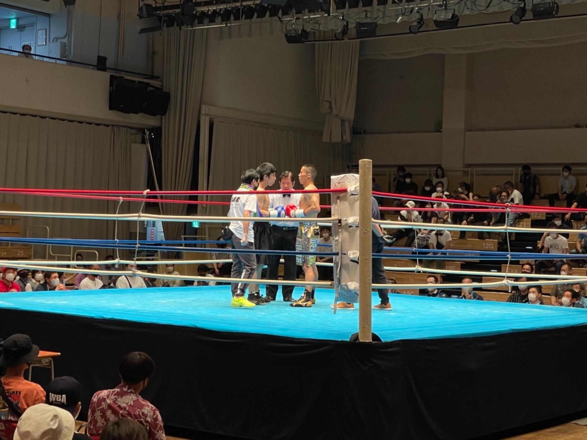 スタッフYUYAのボクシング観戦記3R 画像4 rsc products公式ウェブサイト