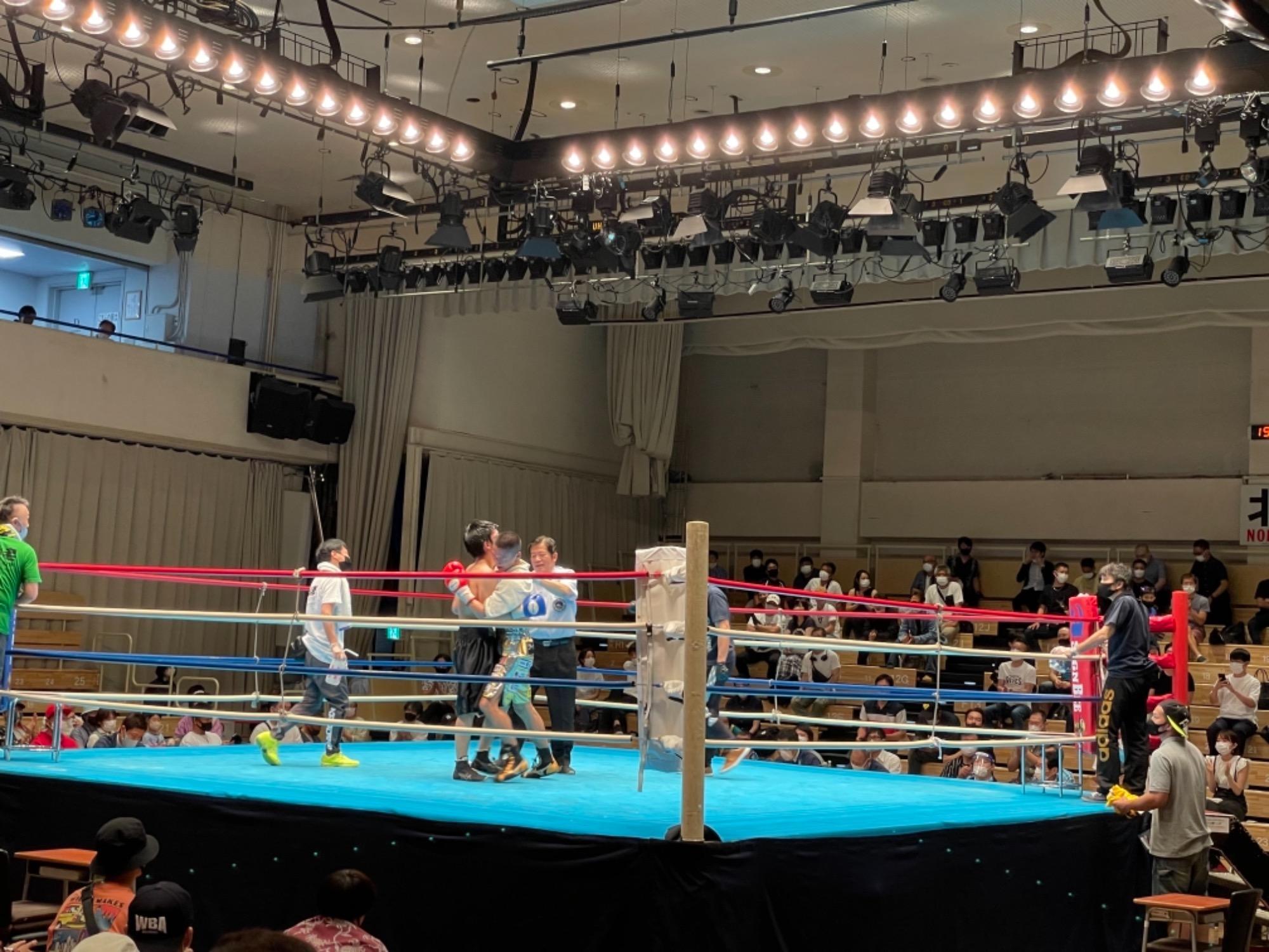 スタッフYUYAのボクシング観戦記3R 画像2 rsc products公式ウェブサイト