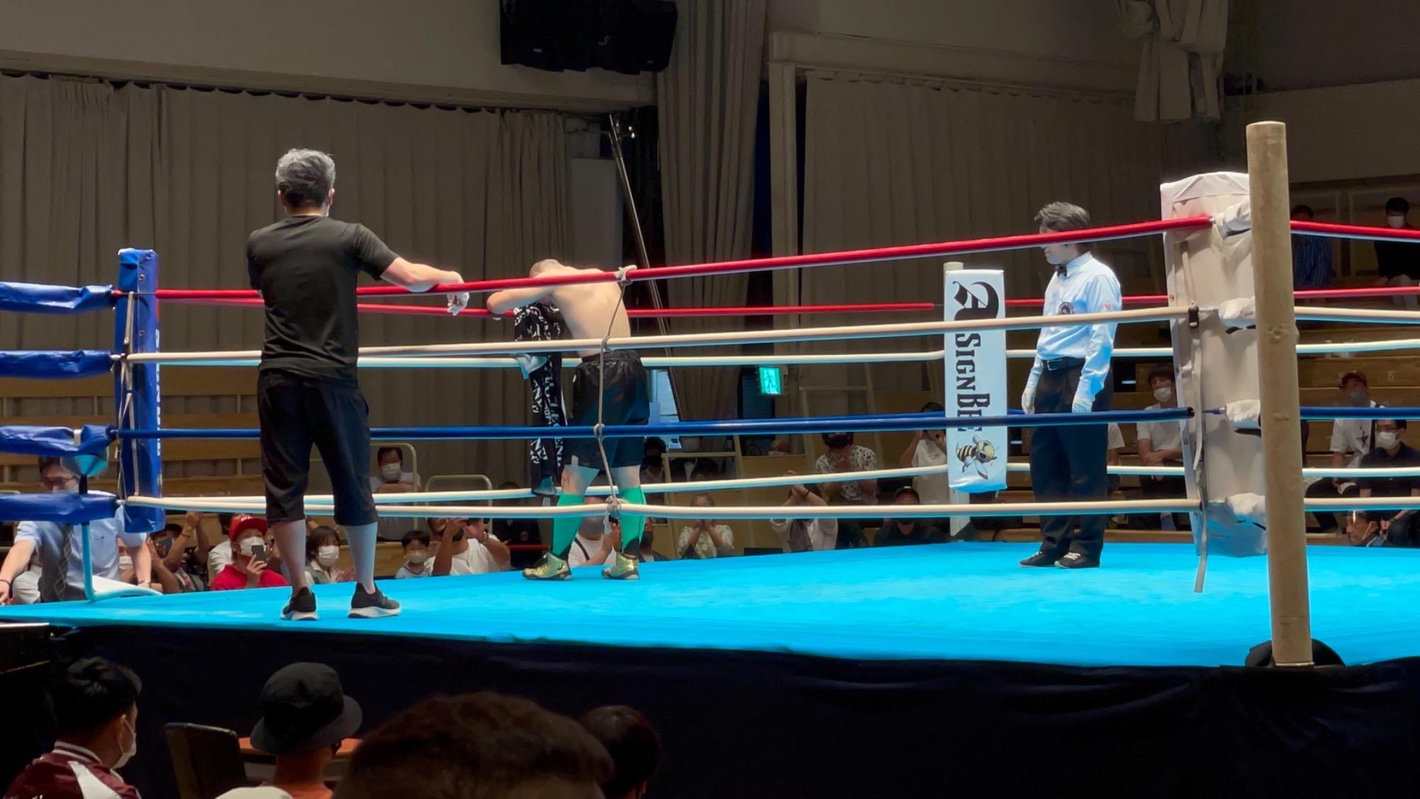 スタッフYUYAのボクシング観戦記3R rsc products公式ウェブサイト