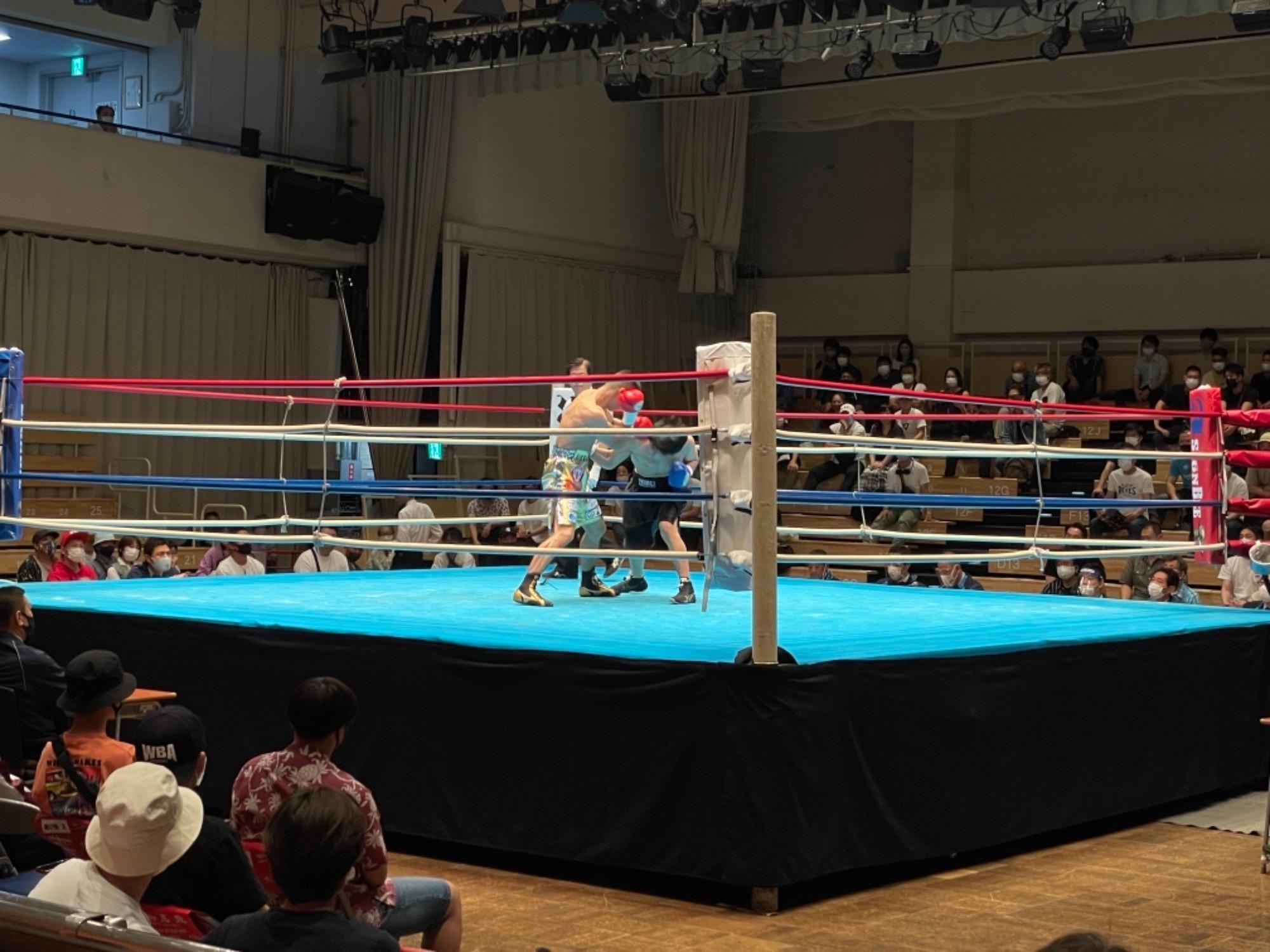 スタッフYUYAのボクシング観戦記3R 画像3|rsc products公式ウェブサイト