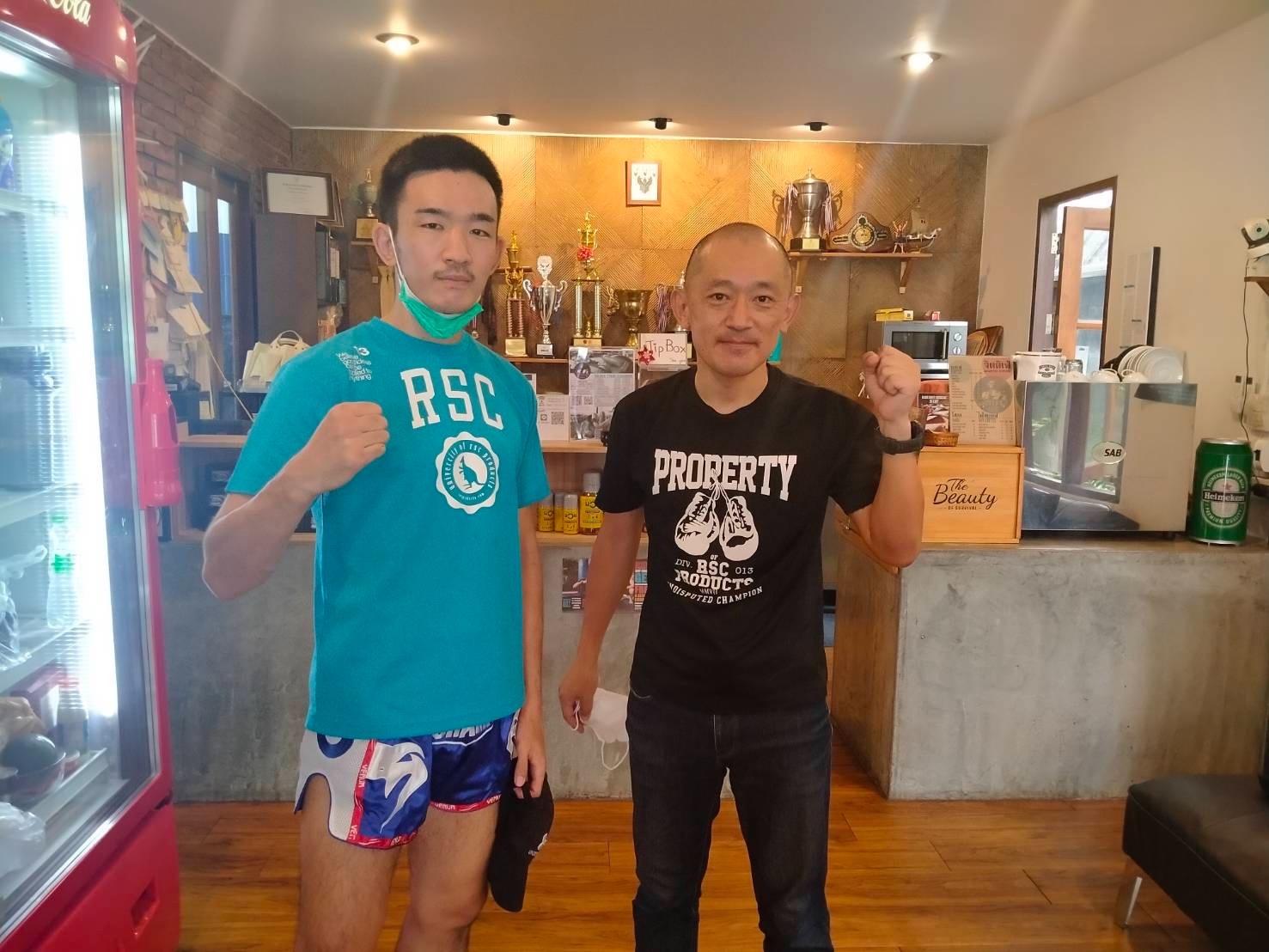 アウェーで40戦、タイ、カンボジアで連戦のムエタイファイター中村慎之介選手 画像2|rsc products公式ウェブサイト