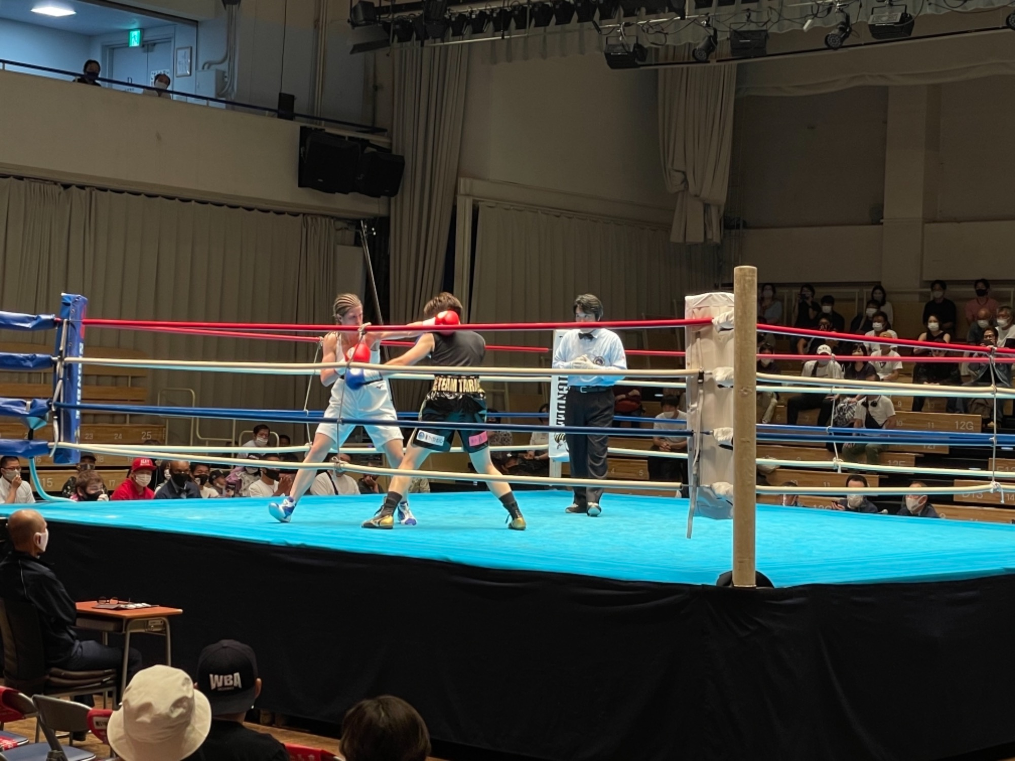 スタッフYUYAのボクシング観戦記3R 画像6 rsc products公式ウェブサイト