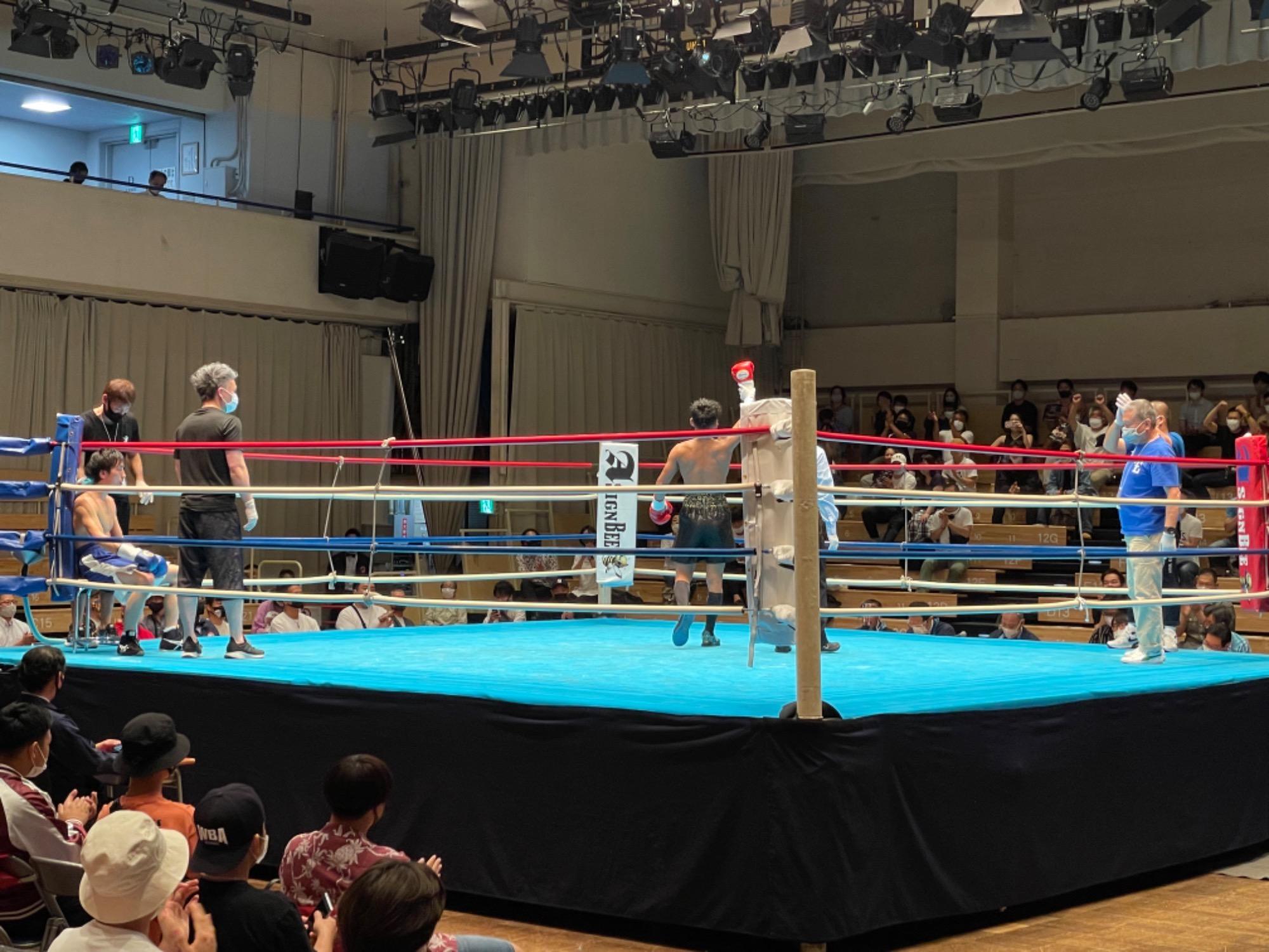 スタッフYUYAのボクシング観戦記3R 画像5|rsc products公式ウェブサイト