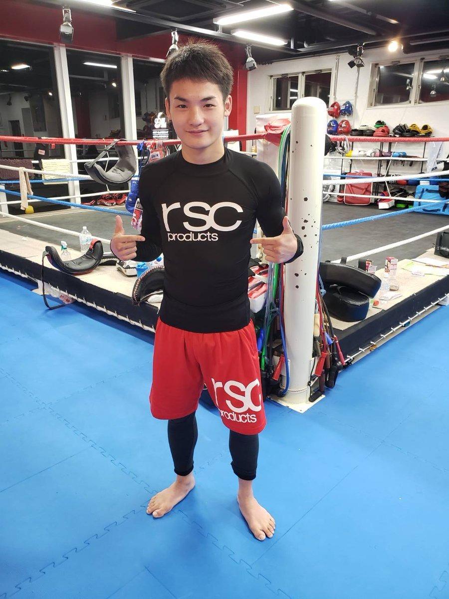 大﨑孔稀選手(OISHI GYM)とオフィシャルサプライヤー契約を結びました 画像1|rsc products公式ウェブサイト