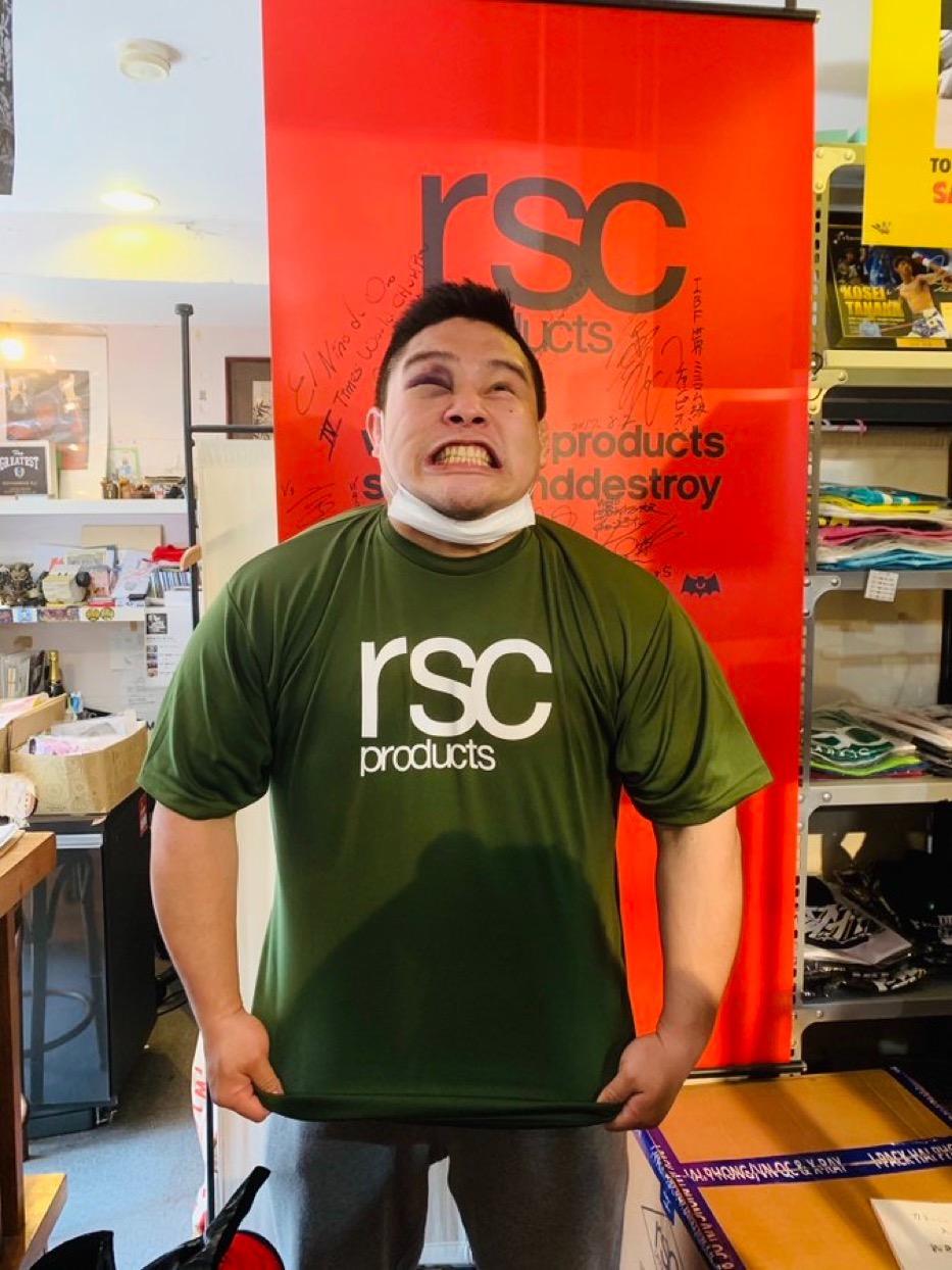 日々練習に励み、精進し、目指せRIZIN! 画像2|rsc products公式ウェブサイト